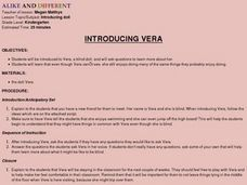 Introducing Vera Lesson Plan