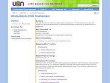 Introduction to Child Development Lesson Plan