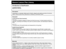 Introduction to Classification Lesson Plan