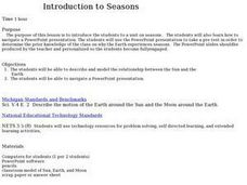 Introduction To Seasons Lesson Plan