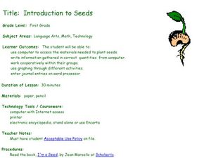 Introduction to Seeds Lesson Plan