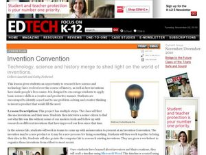 Invention Convention Lesson Plan
