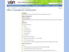 Investigation 4 - Collision Zone Lesson Plan