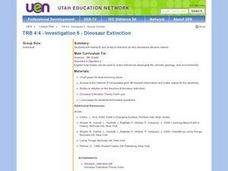 Investigation 6 - Dinosaur Extinction Lesson Plan