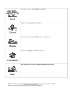Investigations Lesson Plan