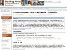 Investigative Case - Living in an Alkaline Environment Lesson Plan