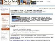 Investigative Case: The Nancy Creek Challenge Lesson Plan