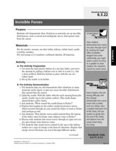 Invisible Forces Lesson Plan