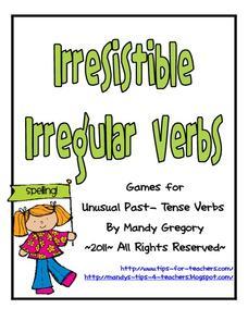 irresistible irregular verbs 2nd 4th grade worksheet lesson planet. Black Bedroom Furniture Sets. Home Design Ideas
