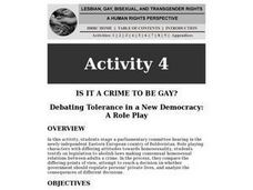 Is It A Crime To Be Gay? Lesson Plan