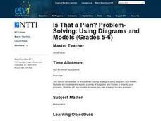 Is That a Plan? Problem-Solving: Using Diagrams and Models Lesson Plan