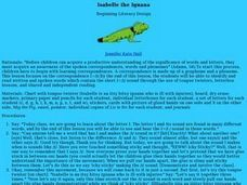 Isabelle the Iguana Lesson Plan