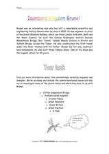 Isambard Kingdom Brunel Worksheet