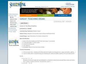 Island of the Blue Dolphins Lesson Plan