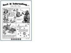 Isn't It Interesting.. Agog with Frogs Worksheet