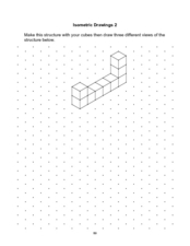 Isometric Drawings 2 Worksheet