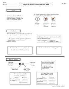Ions And Isotopes Worksheet Photos - Beatlesblogcarnival