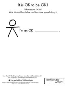 It Is OK To Be OK! Worksheet