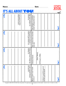 It's All About You Lesson Plan