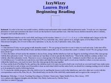 IzzyWizzy Lesson Plan