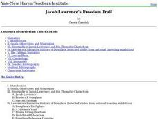 Jacob Lawrence's Freedom Trail Lesson Plan