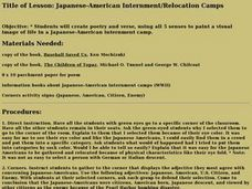 Japanese-American Internment/Relocation Camps Lesson Plan