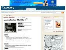 Japanese-Americans of World War II Lesson Plan