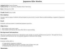 Japanese Kite Stories Lesson Plan