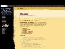 Jazz and Math: The Beat Goes On Lesson Plan