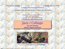 Jazz Exploration: A Collage Project Activities & Project