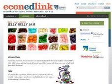 Jelly Belly Jam: a Lesson on Decision Making Lesson Plan