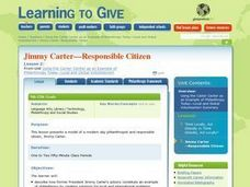Jimmy Carter: Civic Action, Lesson 2 Lesson Plan