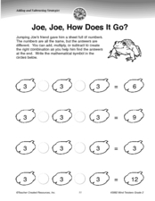 Joe, Joe, How Does It Go? Worksheet