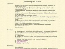 Journaling and Diaries Lesson Plan