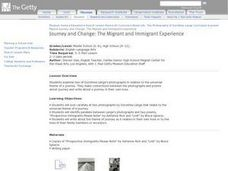 Journey and Change: The Migrant and Immigrant Experience Lesson Plan