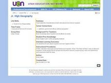 Jr. High Geography Lesson Plan