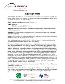 Juggling Shapes Lesson Plan