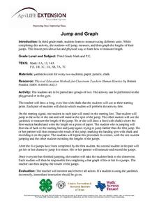 Jump and Graph Lesson Plan