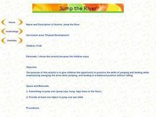 Jump the River Lesson Plan