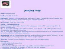 Jumping Frogs Lesson Plan