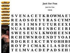 Just for Fun: Word Search Worksheet