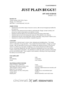 Just Plain Buggy: Art and Science Lesson Plan