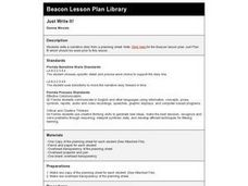 Just Write It! Lesson Plan