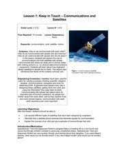 Keep in Touch: Communications and Satellites Lesson Plan