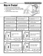 Keep on Truckin' Worksheet