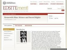 Kennewick Man: Science and Sacred Rights Lesson Plan