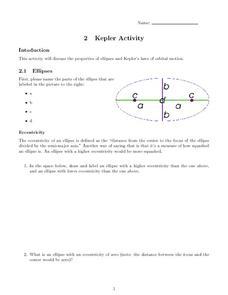 kepler activity 9th 12th grade worksheet lesson planet. Black Bedroom Furniture Sets. Home Design Ideas
