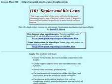 kepler and his laws 9th 12th grade lesson plan lesson planet. Black Bedroom Furniture Sets. Home Design Ideas