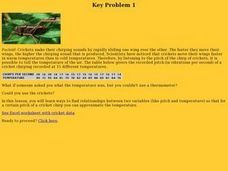 Key Problem 1 Lesson Plan
