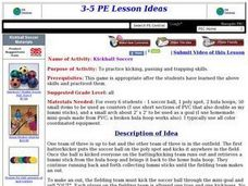 Kickball Soccer Lesson Plan